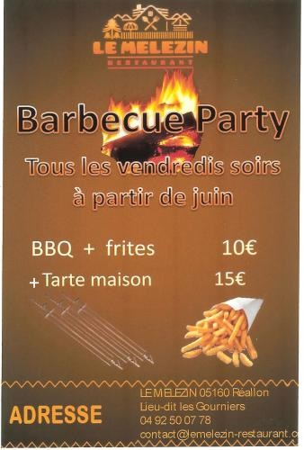 BARBECUE PARTY 2016